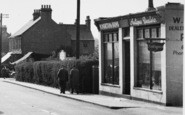 Pitsea, High Street, Antique Dealers c.1955