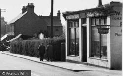 Pitsea, High Street, Antique Dealers c.1955