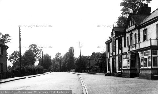 Photo of Pitsea, Pitsea Road c1955