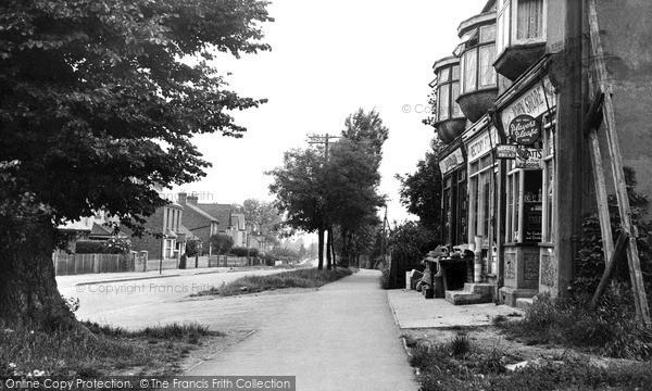 Pitsea, Rectory Road c1955