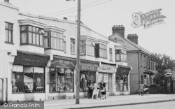 Pitsea, Rectory Road Shops c.1955