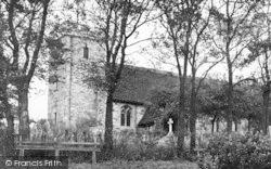 Pitsea, St Michael's Church c.1955