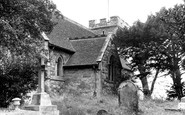 Pitsea, St Michael's Church c1955