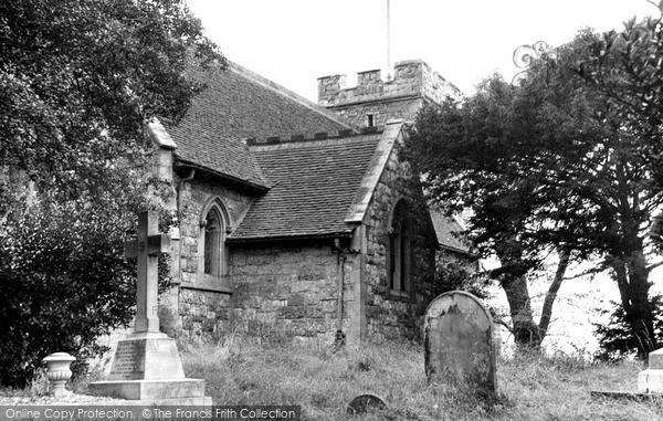 Pitsea, St Michael's Church c1955