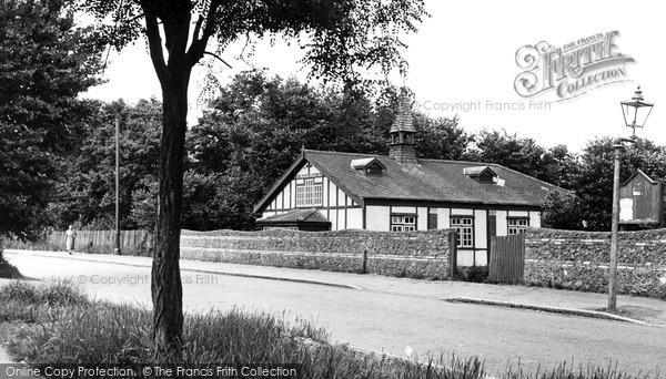 Photo of Pitsea, St Michael's Church Hall c.1955