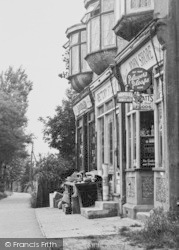 Pitsea, Stores In Rectory Road c.1955