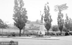 Pitsea, The Memorial c.1955
