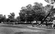 Pitsea, the Recreation Ground c1955