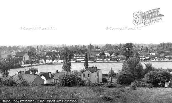 Pitsea, view from Church c1955