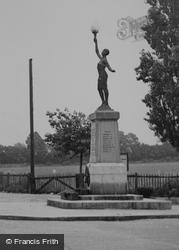 Pitsea, War Memorial c.1955