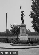 Pitsea, War Memorial c1955