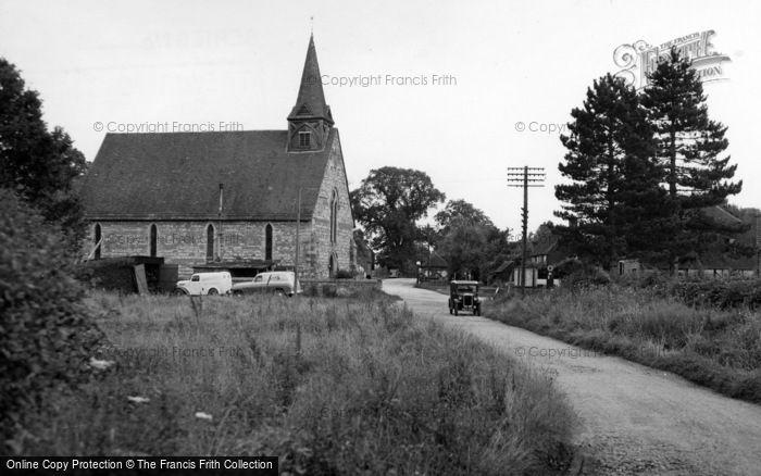Photo of Plaistow, Holy Trinity Church c.1955