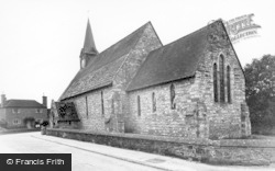 Plaistow, Holy Trinity Church c.1960
