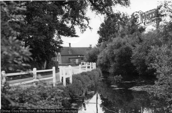 Photo of Plaistow, The Pond c.1955