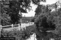 Plaistow, The Pond c.1955