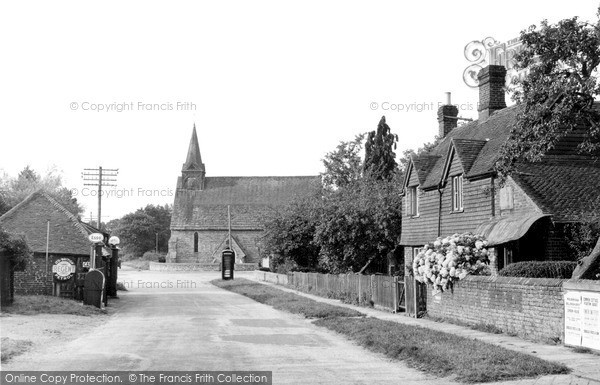 Photo of Plaistow Green, the Village c1955, ref. P301012