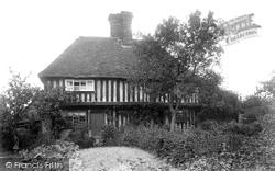 Plaxtol, Old Cottage 1901