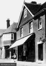 Plaxtol, The Village Stores 1901
