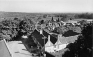 Plaxtol, View From The Church Tower c.1960