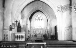 Church Interior c.1965, Pleshey