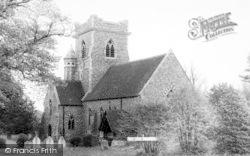 Holy Trinity Church c.1960, Pleshey