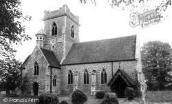 Holy Trinity Church c.1965, Pleshey
