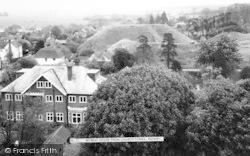 Retreat House From Church Tower c.1965, Pleshey