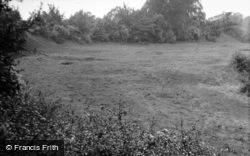 Site Of The Castle 1951, Pleshey
