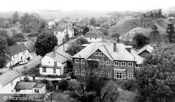 View From The Church Tower c.1965, Pleshey