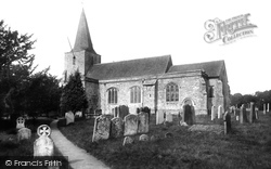 Pluckley, St Nicholas' Church 1901