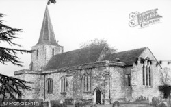 Pluckley, St Nicholas' Church c.1950