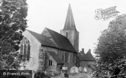 Pluckley, St Nicholas' Church c.1960