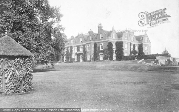 Photo of Pluckley, Surrenden House 1901
