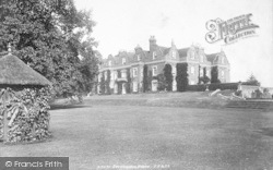 Pluckley, Surrenden House 1901