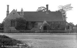 Pluckley, The School c.1950
