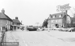 Pluckley, The Square And Black Horse c.1965