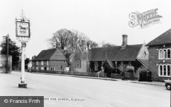 Pluckley, The Square And School c.1965