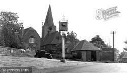 Pluckley, The Village Square c.1950