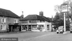 Pluckley, Village Square c.1950