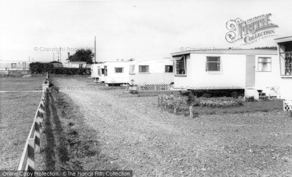 Photo of Plumpton, Greenacres Caravan Park c.1960