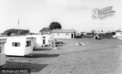 Greenacres Caravan Park c.1960, Plumpton