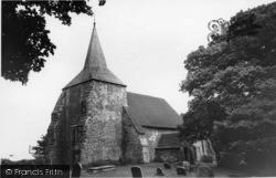 Plumpton, St Michael's Church c.1955