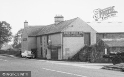 Plumpton, The Pack Horse Inn c.1955
