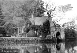 Plymouth, Boat House At Radford 1906