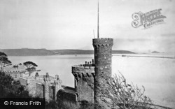 Plymouth, Breakwater And Fort c.1876
