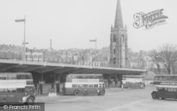 Plymouth, Bus Station c.1960
