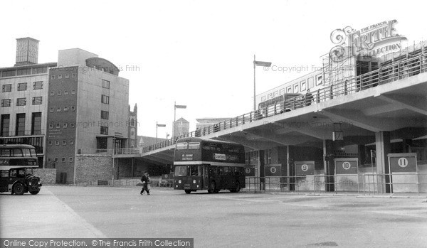 Plymouth, Bus Station c1960