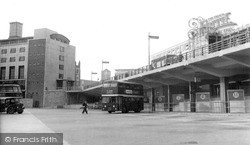 Bus Station c.1960, Plymouth