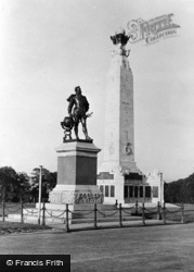 Drakes Memorial c.1955, Plymouth