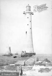 Plymouth, Eddystone Lighthouse 1890